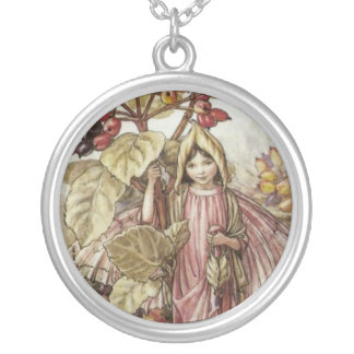The Wayfaring Tree Fairy Round Pendant Necklace