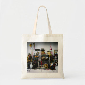 The Weapons and Armor of the Ancient Samurai Japan Tote Bag