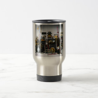 The Weapons and Armor of the Ancient Samurai Japan Travel Mug
