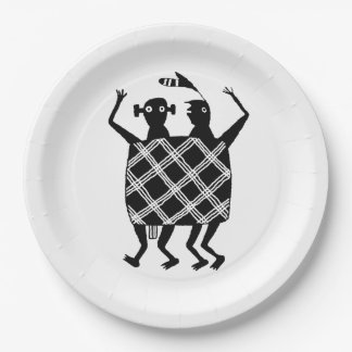 The Wedding Blanket Paper Plate