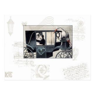 The Wedding Carriage Postcard