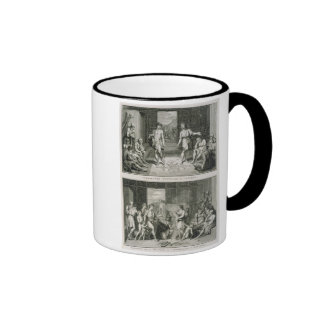 The Wedding Ceremony and the Manner of Divorce in Ringer Mug