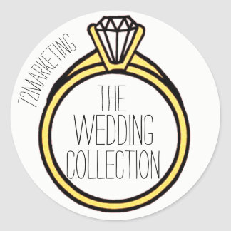 The Wedding Collection Ring I do Sticker