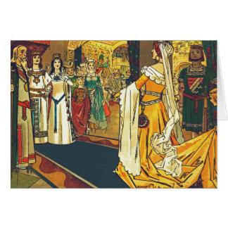The Wedding Feast, Franz Jüttner Card
