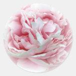 The Wedding Flower Envelope Seals Classic Round Sticker