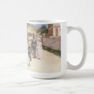 The Wedding March by Robinson, Vintage Newlyweds Basic White Mug