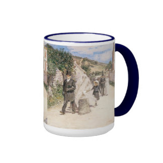 The Wedding March by Robinson, Vintage Newlyweds Ringer Mug