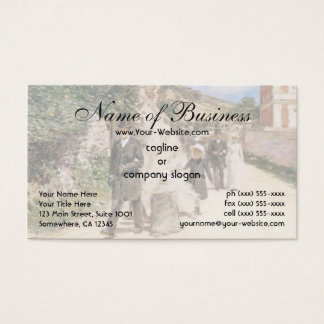 The Wedding March by Theodore Robinson Business Card