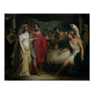 The Wedding of Alexander the Great  and Roxana Poster