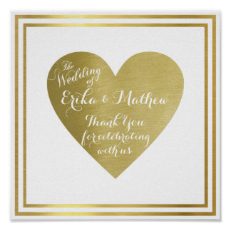 the wedding of (couple names), reception love poster