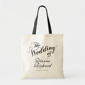 the wedding of... (custom names) black