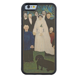 The wedding party, c.1905 maple iPhone 6 bumper case