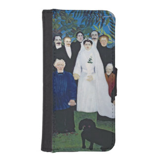 The wedding party c 1905 phone wallet cases