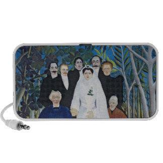 The wedding party, c.1905 laptop speaker