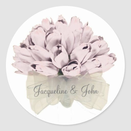 The Wedding / Pink Roses - Stickers
