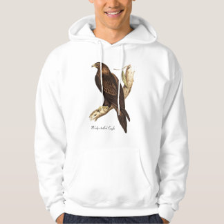 The Wedge Tailed Eagle. A Magnificent Bird of Prey Hooded Pullovers