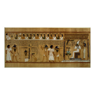 The Weighing of the Heart against Maat's Feather Poster