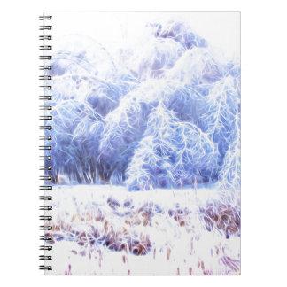 The Weight of Ice-lumi Notebooks