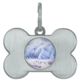 The Weight of Ice-lumi Pet ID Tag