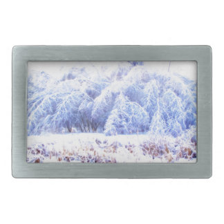 The Weight of Ice-lumi Rectangular Belt Buckle