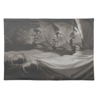 The Weird Sisters (Shakespeare, MacBeth) Placemat