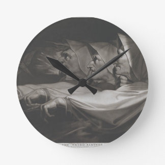 The Weird Sisters (Shakespeare, MacBeth) Round Clock
