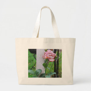 The Welcome at the Gate Large Tote Bag