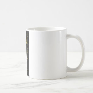 The Wererabbit lined in blue or gold Coffee Mugs