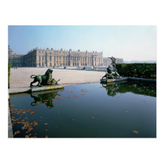 The West or Garden Facade viewed from the Parterre Postcard
