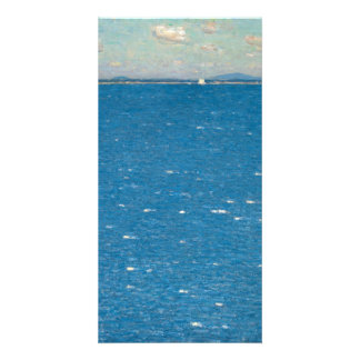 The West Wind Isle of Shoals by Childe Hassam Customised Photo Card
