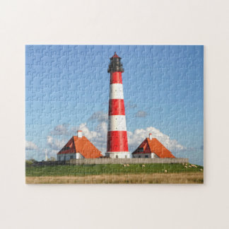 The Westerheversand Lighthouse Jigsaw Puzzle