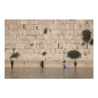 The Western Wall, Jerusalem Poster