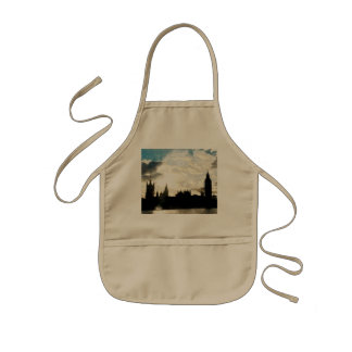 The Westminster Palace in London Kids Apron