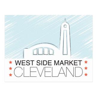 The Westside Market of Cleveland Postcard