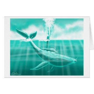 The whaleback dives card