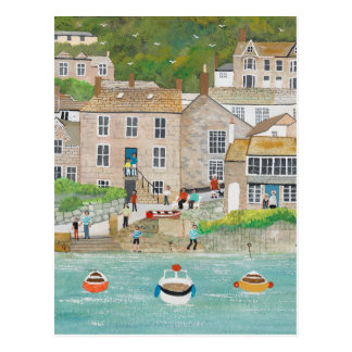The Wharf at Mousehole Postcard