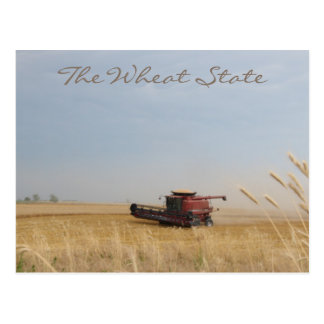 The Wheat State Postcard