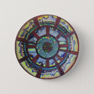 The Wheel of Time Gift Line 6 Cm Round Badge