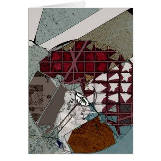 The Wheel: Postmodern Tarot Art Card
