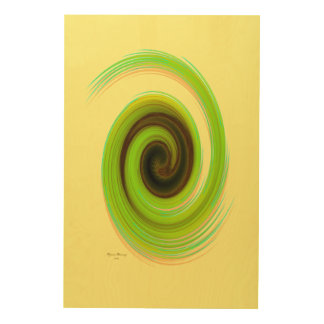 The whirl, w6.4 wood wall decor