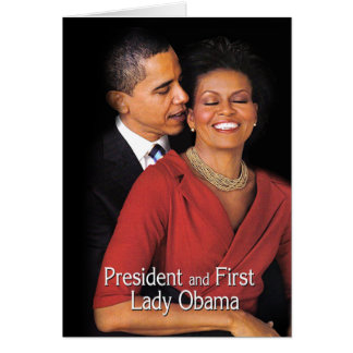 The Whisper (President & First Lady Obama) Greeting Card