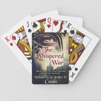The Whispered War Playing Deck Playing Cards