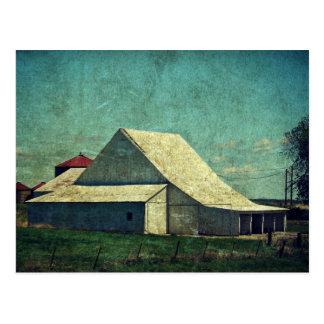 The White Barn Postcard