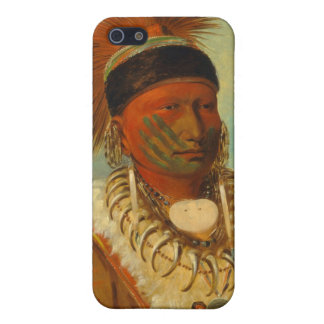 The White Cloud, Head Chief of the Iowas iPhone 5/5S Cover