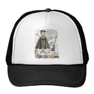 The white ego trucker hats