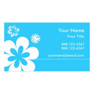 The White Flower. Business Cards
