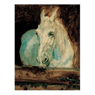 The White Horse Gazelle - Henri Toulouse-Lautrec Postcard