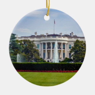 The White House Ceramic Ornament