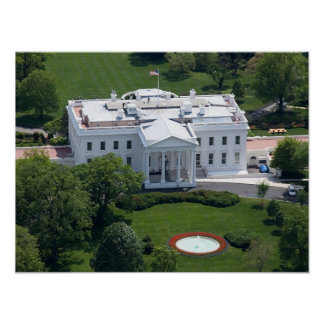 The White House - Northern Facade Print
