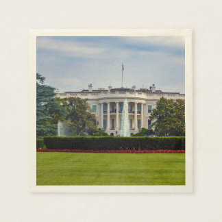 The White House Paper Napkin